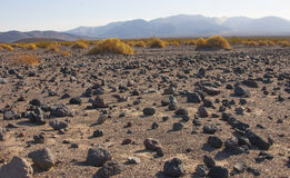 Parc national de la Californie, Death Valley, le désert en pierre Images libres de droits