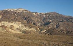 Parc national de la Californie, Death Valley, le désert en pierre Images stock