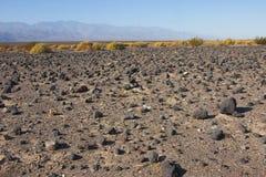 Parc national de la Californie, Death Valley, le désert en pierre Photo libre de droits