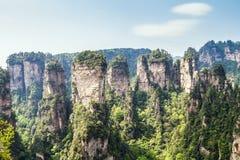 Parc national de la Chine, Zhangjiajie images stock