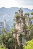 Parc national de la Chine, Zhangjiajie photo libre de droits