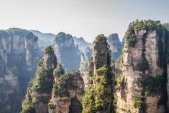 Parc national de la Chine, Zhangjiajie image libre de droits