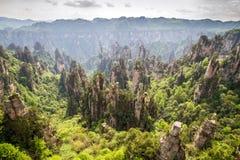 Parc national de la Chine, Zhangjiajie image stock