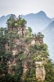 Parc national de la Chine, Zhangjiajie photographie stock