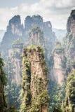 Parc national de la Chine, Zhangjiajie photo stock