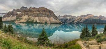 Parc national de lac bow, Banff Images stock