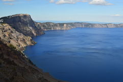 Parc national de lac crater Images libres de droits