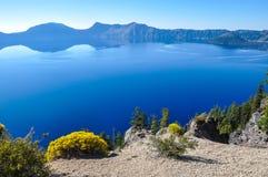 Parc national de lac crater, Orégon, Etats-Unis Images stock