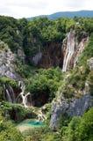 Parc national de lacs Plitvice Image libre de droits