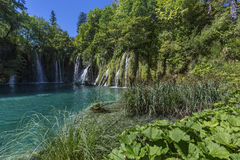 Parc national de lacs Plitvice - Croatie Images libres de droits