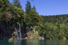 Parc national de lacs Plitvice - Croatie Image libre de droits