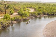 Parc national de Makasutu de vue Photographie stock libre de droits