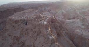 Parc national de Masada dans la région de mer morte de l'Israël clips vidéos