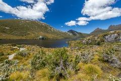 Parc national de montagne de berceau de panorama photographie stock