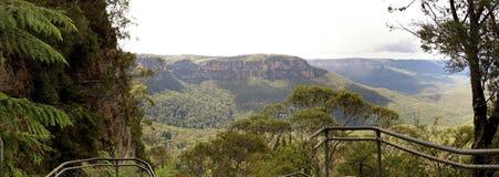 Parc national de montagnes bleues, NSW, Australie Photographie stock