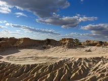 Parc national de mungo, NSW, Australie Photographie stock