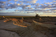 Parc national de mungo, NSW, Australie Images libres de droits