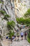 Parc national de Paklenica Photographie stock libre de droits