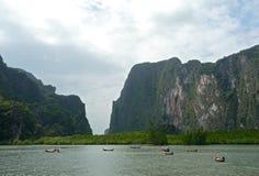 Parc national de Phang Nga images stock