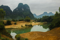 Parc national de Phong Nha Images libres de droits