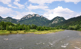 Parc national de Pieniny, Slovaquie, l'Europe Images stock