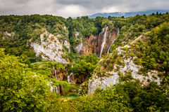 Parc national de Plitvice Images libres de droits