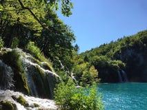 Parc national de Plitvice Photo stock