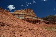 Parc national de récif de capitol Images stock