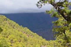 Parc national de Taburiente Photographie stock