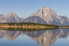 Parc national de Teton Image libre de droits