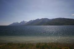 Parc national de tetons grands Photos libres de droits