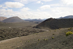 Parc national 002 de Timanfaya Photographie stock libre de droits