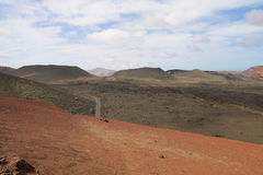 Parc national 005 de Timanfaya Photo stock