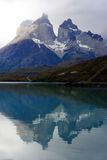 Parc national de Torres del Paine, Patagonia, Chili Photographie stock