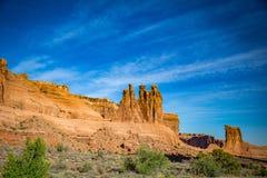 Parc national de trois voûtes de bavardages photos libres de droits