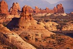 Parc national de voûtes photographie stock libre de droits