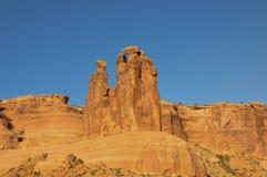 Parc national de voûtes ;  L'Utah ; Les Etats-Unis ; Image libre de droits