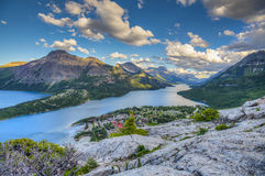 Parc national de Waterton Photographie stock libre de droits