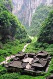 Parc national de Wulong, Chongqing, Chine Photographie stock libre de droits