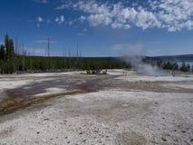 Parc national de Yellowstone aux Etats-Unis Images stock