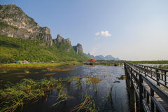 Parc national de yod de ROI de Khao Sam, Thaïlande Photographie stock