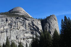 Parc national de Yosemite de dôme du nord Photos libres de droits