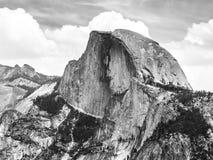 Parc national de Yosemite et demi dôme, la Californie, Etats-Unis Photos libres de droits