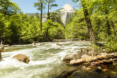 Parc national de Yosemite, Etats-Unis, la Californie Image stock