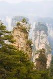 Parc national de Zhangjiajie images stock
