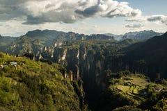 Parc national de Zhangjiajie image stock