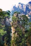 Parc national de Zhangjiajie en Chine Photos libres de droits