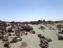 Parc National del Teide Fotografia Stock Libera da Diritti