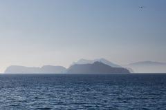 Parc national des Îles Anglo-Normandes Photographie stock