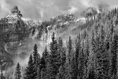 Parc national des Rocheuses Banff de Canadien images libres de droits